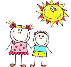 děti se sluníčkem